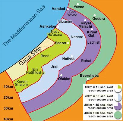 tir de missiles depuis gaza