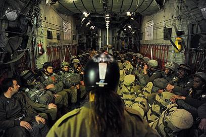 parachutistes israéliens tsehelim balish exercice 1000