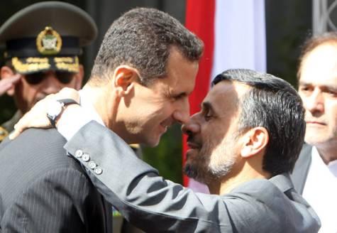 bachar ahmadinejad