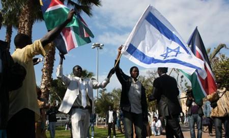 israel sud soudan