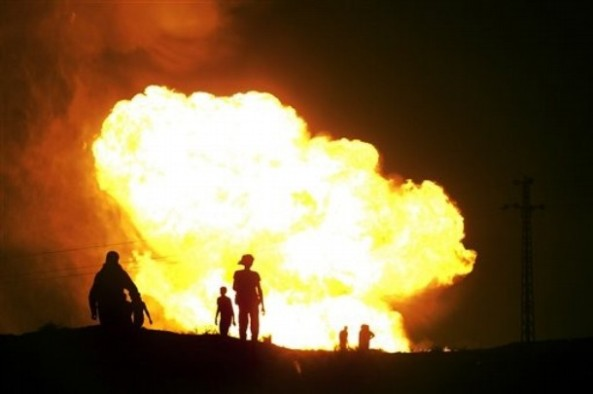 Egypt-Gas Pipeline Explosion