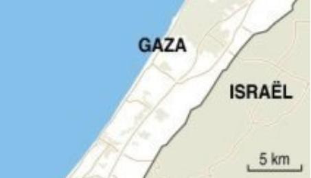 gaza israel fibre optique internet haut debit