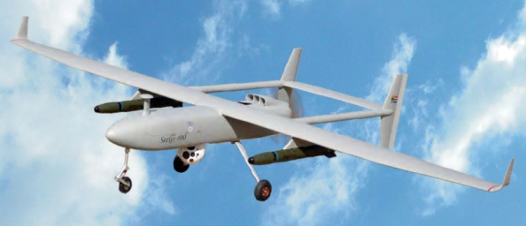 Image: Armed drone