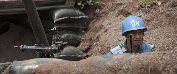 soldat de l ONU a Kibati