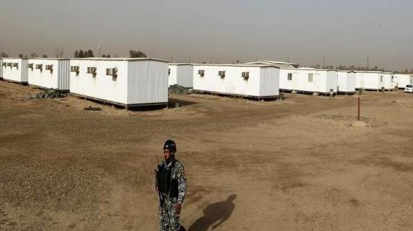 bombardement de camp liberty en irak mek ompi