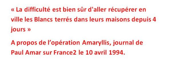 operation amaryllis paul amar journal de france2
