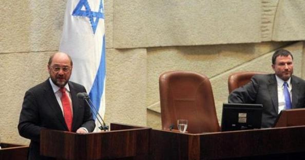 martin schultz diffame israel