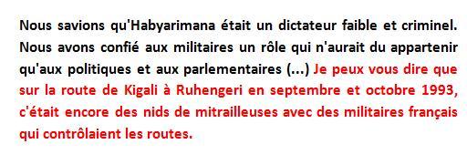 michel cuingnet temoignage commission quiles rwanda genocide