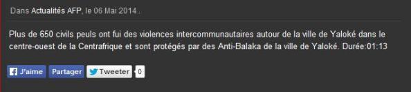 Yaloke antibalaka AFP