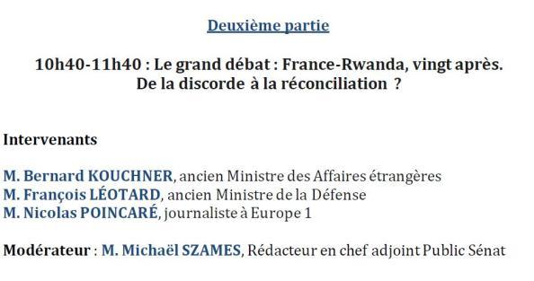 france rwanda 20 ans apres de la discorde a la reconciliation