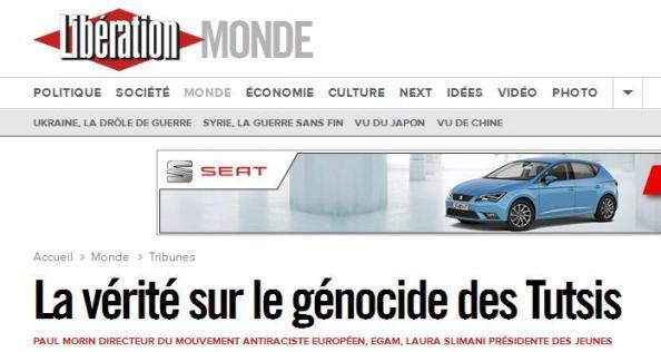 la verite genocide