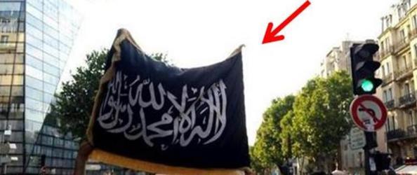 drapeau eiil manif pro gaza