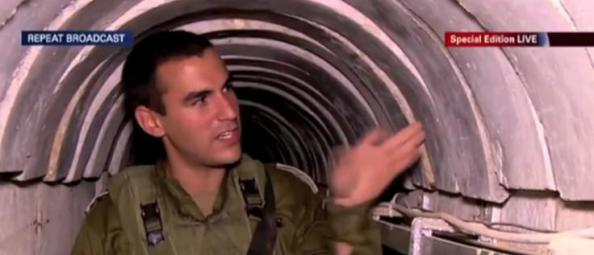 tunnel ciment israel gaza