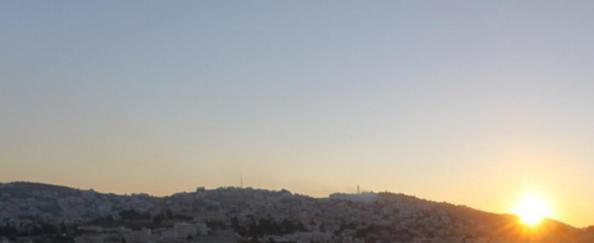 Betleem coucher de soleil