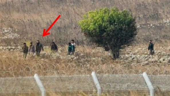 frontière israélienne sur le Golan