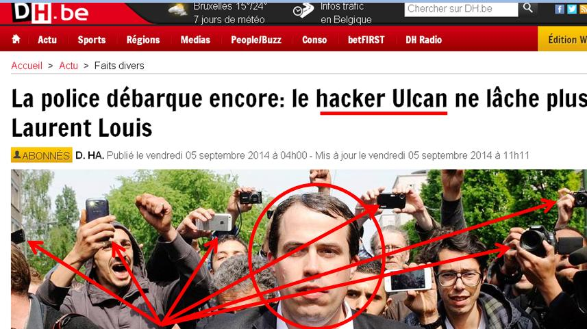 ulcan belgique canular 3