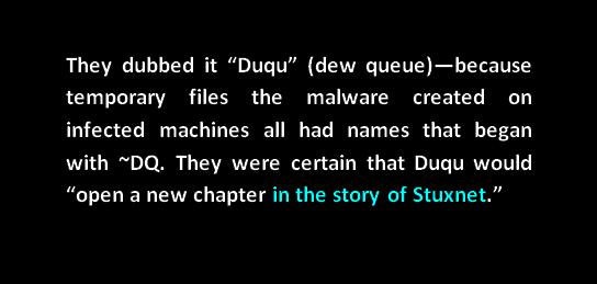 dew queue new chapter in the history of stuxnet
