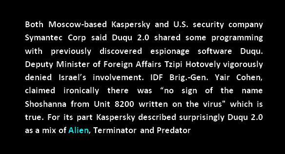 duqu 2.0 alien cyberattack