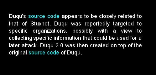 duqu stuxnet duqu 2.0 source code lineage