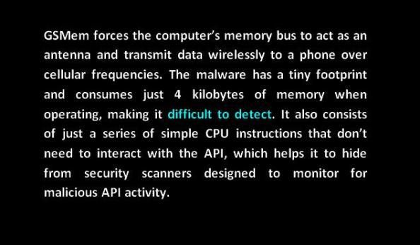 gsmem antenna malware