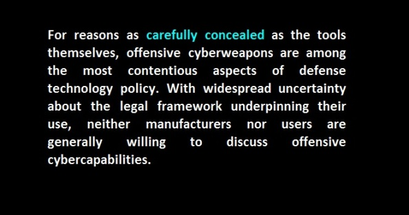 concealed cyber weapons