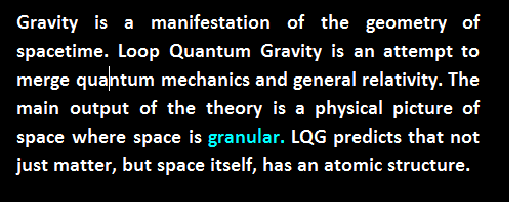 lqg loop quantum gravity