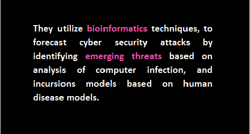 bioinformatics models cyberattacks