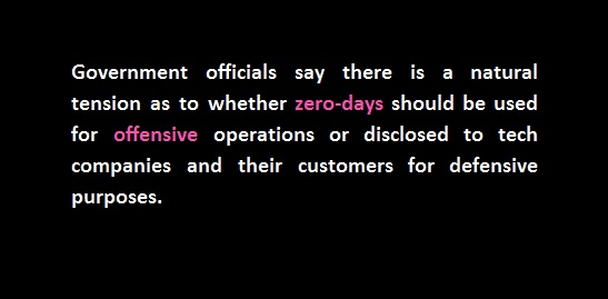 zero days non disclosure
