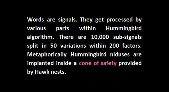 Hummingbird subsignals