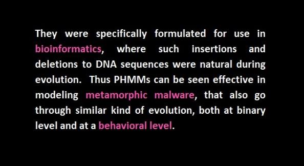 phmm hidden markov model