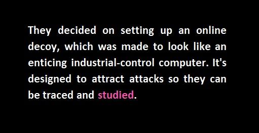 decoy cyber attack