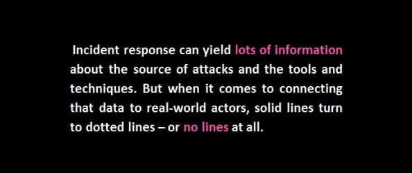misattribution cyberwar